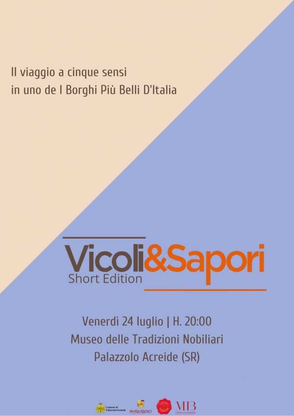Vicoli&Sapori | Short edition 2020